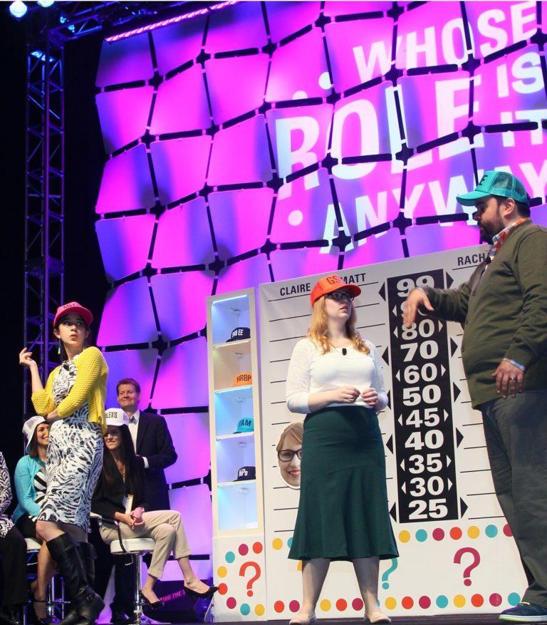 Improv-based game show brings a new behavior model to life.